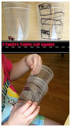 Fine Motor Activities - 3 Simple but Fun Cup Twisting Games great for bilateral coordination