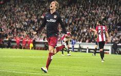 Atlético Madrid le ganó 1 a 0 al Athletic Bilbao y logró mantenerse en lo más alto de la Liga Española