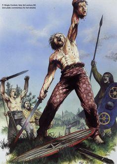 Single combat, Celts