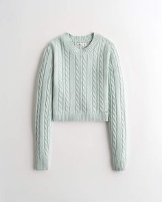 Girls Slim Cable Sweater | Girls Tops | HollisterCo.com