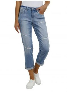 jeanswear baggy ripped jeans