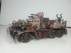 Conversion Fanboy-Customizing for 40K: Speedwagon (A looted idea)