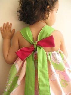 Little girl dress pattern