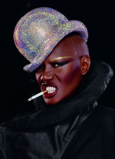 Portrait Photography Inspiration : Grace Jones by Jean Paul Goude