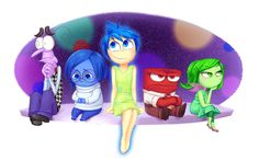 This Emotional 'Inside Out' Fan Art Will Get You Ready for Disney Pixar's New Animated Movie