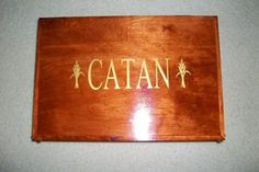 Wood Box to Hold Your Catan Game | eBay