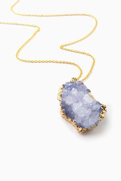 ShopSosie Style : Emotion and Memory Necklace in Purple