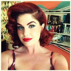 Doris Mayday, makeup by Micheline Pitt