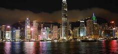 Night in Hong Kong. Beautiful Places In The World, Amazing Places, Bora Bora Island, Long Lake, Christmas Town, Treasure Island, Travel Aesthetic, Fort Myers, Laguna Beach