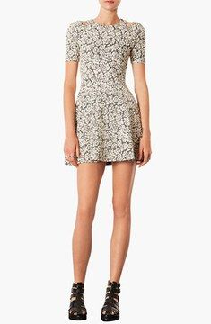 Topshop Cutout Jacquard Dress on shopstyle.com