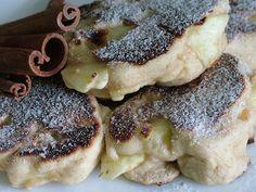 Smak Zdrowia: Puszyste racuchy pełnoziarniste z jabłkami