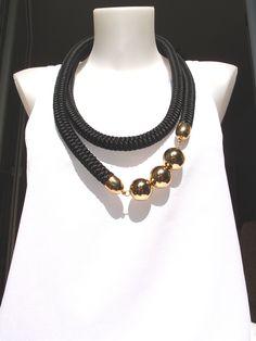 Bohemian Necklace, Fabric Jewelry, Craft Business, Necklaces, Bracelets, Kugel, Handmade Jewelry, Textiles, Boho