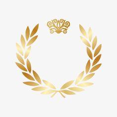 Gold laurel wreath gold, Golden, Wreath, Olive Branch PNG and Vector Cadre Design, Certificate Background, Monogram Wallpaper, Wedding Vow Art, Flower Graphic Design, Olive Wreath, Branch Vector, Floral Logo, Laurel Wreath
