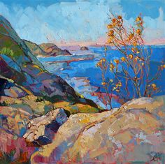 Iconic California painting inspired by Big Sur, by Erin Hanson