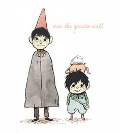 leikotanaka: Tadashi, Hiro, and Baymax as Wirt, Greg, and The President from Over the Garden Wall because if you dig sibling relationships, you should definitely watch that mini-series.