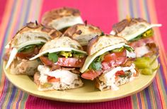 Southwestern Chicken Torta | Recipes & Tips | Mezzetta.com | Don't Forgetta Mezzetta-- I have some Giardiniera and I gotta figure out how to use it. >.