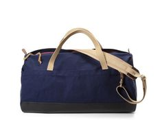 Archival Clothing - Archival Duffel - Navy Duck