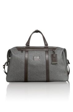 $795, Astor Waldorf Duffel Bag Earl Grey One Size by Tumi. Sold by Nordstrom. Click for more info: http://lookastic.com/men/shop_items/106497/redirect