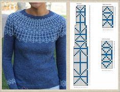 Filet Crochet, Knit Crochet, Fair Isle Knitting Patterns, Stitch Patterns, Cross Stitch, Men Sweater, Sweaters, Fashion, Men's