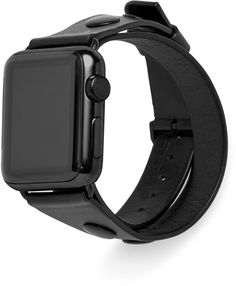Double Warp Leather Apple Watch Band $100