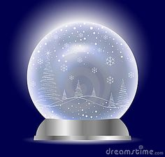 Dreamstime Snow Globes | Christmas Vector Snow Globe Stock Images - Image: 11997424