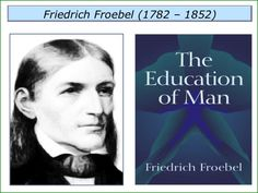 A post on Froebel and his influences via The Strengths Foundation