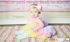 Finally!!! Flutter Petti range BACK IN STOCK!