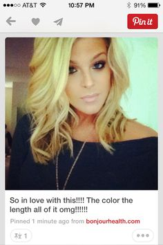 Love the color and the cut & style