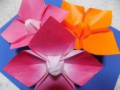 花の折り紙 ハナミズキの折り方 作り方 ちょっと難しいかも?