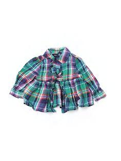 Ralph Lauren Long Sleeve Button Down Shirt - $12 on thredup (free shipping 'til Dec. 14th!)