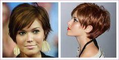 Resultado de imagem para penteados em cabelos curtos