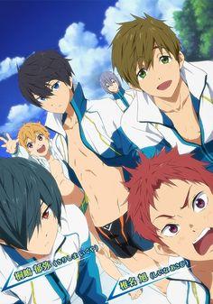 Free! ~~ High Speed! - Vol. 2 will be released July 2nd :: New characters: Kirishima Ikuya and Shiina Asahi