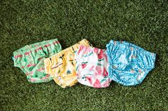 Water fun, here we come! This adorable Honest Swim Diaper can be washed and re-used over and over.   Honest Swim Diapers - Spring 2015