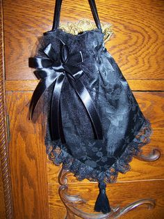 Civil War Hatand ReticuleVictorian LadiesBlack by civilwarlady, $49.99