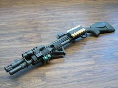 Mossberg 500 Tactical Upgraded