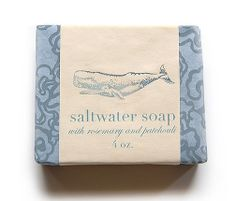 saltwater soap from Pink Olive - $12.00