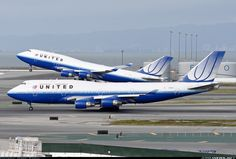United Airlines - Boeing 747-422 - San Francisco - International (SFO / KSFO)