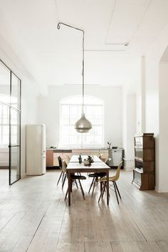 natural light and volumes