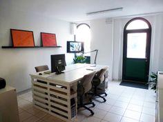Ikea & Pallet office table - IKEA Hackers - IKEA Hackers