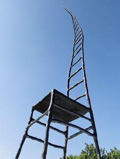 Empty Chair by Maarten Baas for Amnesty International. #Chair #Maarten_Baas #Amnesty_International