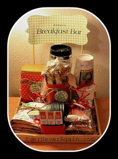 breakfast bar gift basket