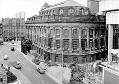 Birmingham Central Library, UK: built in after a fire destroyed the original building Demolished in Birmingham City Centre, Birmingham Uk, Old Pictures, Old Photos, Hill Station, Building Structure, West Midlands, Local History, City Buildings
