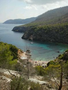 Ibiza's Blue Lagoon