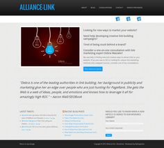 Link building consultations with Debra Mastaler from Alliance-Link