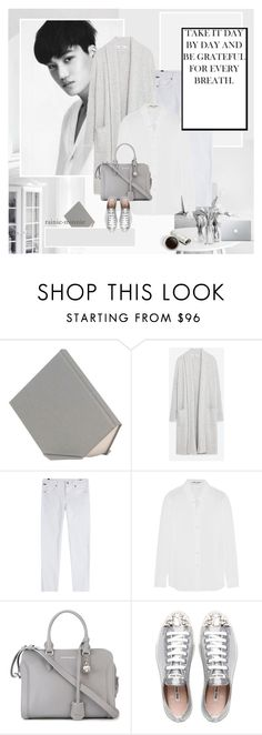 """""""Never fade away"""" by rainie-minnie ❤ liked on Polyvore featuring Debra Folz, Zara, Citizens of Humanity, Yves Saint Laurent, Alexander McQueen and Miu Miu"""