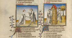 medieval manuscript doodles - Szukaj w Google