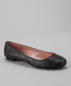 Take a look at this Black Vixen Ballet Flat by Gwyneth Shoes on #zulily today!