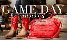 Show Your Team Spirit! Game Day Boots Every Girl Needs to Own