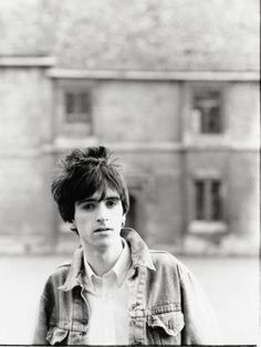 Johnny Marr during the Smiths years -- photo by Andy Catlin. Brian Molko, Andy Rourke, Emo, The Smiths Morrissey, Primal Scream, Johnny Marr, Paul Weller, Martin Gore, Charming Man