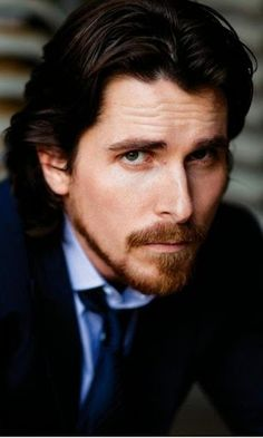 Christian Bale - now this guy could have been Christian Grey! Beautiful Family, Most Beautiful Man, Beautiful People, Hello Gorgeous, Christian Bale, Christian Grey, Chris Bale, Celebrity Portraits, Batman